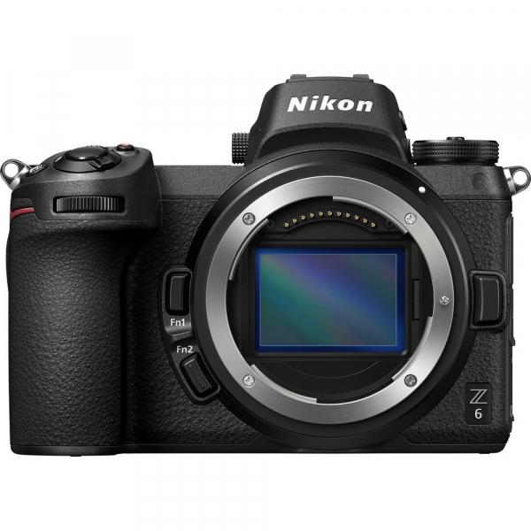 Nikon Z6 Body + adaptor Nikon FTZ,  Aparat Foto Mirrorless Full Frame 24.5MP Video 4K  Wi-Fi 2