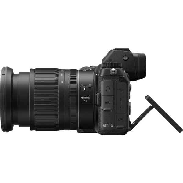 Nikon Z6 kit Nikkor Z 24-70mm f/4 S +adaptor Nikon FTZ, Aparat Foto Mirrorless Full Frame 24.5MP Video 4K  Wi-Fi 8
