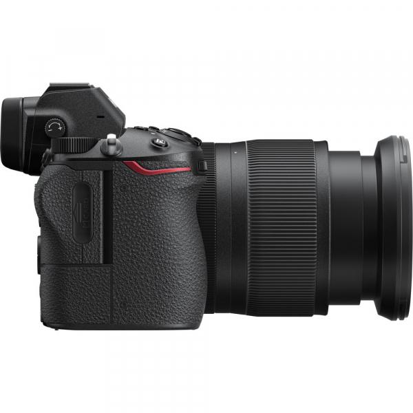 Nikon Z6 kit Nikkor Z 24-70mm f/4 S +adaptor Nikon FTZ, Aparat Foto Mirrorless Full Frame 24.5MP Video 4K  Wi-Fi 9