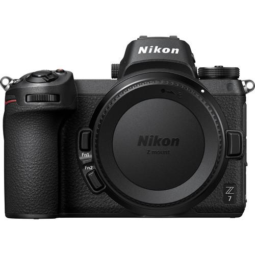 Nikon Z7 Body + adaptor FTZ -  Aparat Foto Mirrorless Full Frame 45.7MP Video 4K  Wi-Fi 2