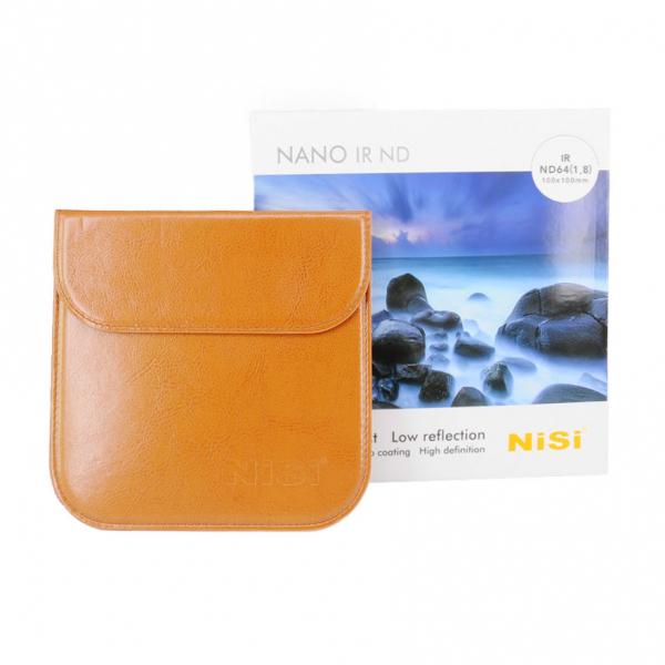 Nisi NANO IR ND64 100x100mm - filtru neutral , 1.8 / 6 stopuri 1
