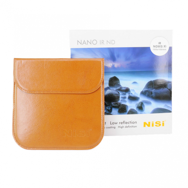 Nisi NANO IR ND8 100x100mm - filtru neutral , 0,9 / 3 stopuri 1