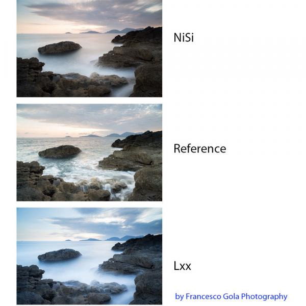 NiSi NANO REVERSE IR GND8 100x150mm - filtru neutru gradual 0.9 la 0.15 / 3 la 0.5 stopuri 9