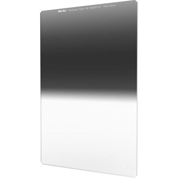 NiSi NANO REVERSE IR GND8 100x150mm - filtru neutru gradual 0.9 la 0.15 / 3 la 0.5 stopuri 0
