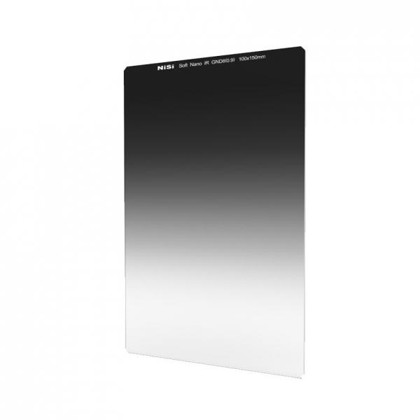 Nisi NANO SOFT IR GND8 100x150mm  - filtru neutru gradual 0,9 / 3 Stopuri 0