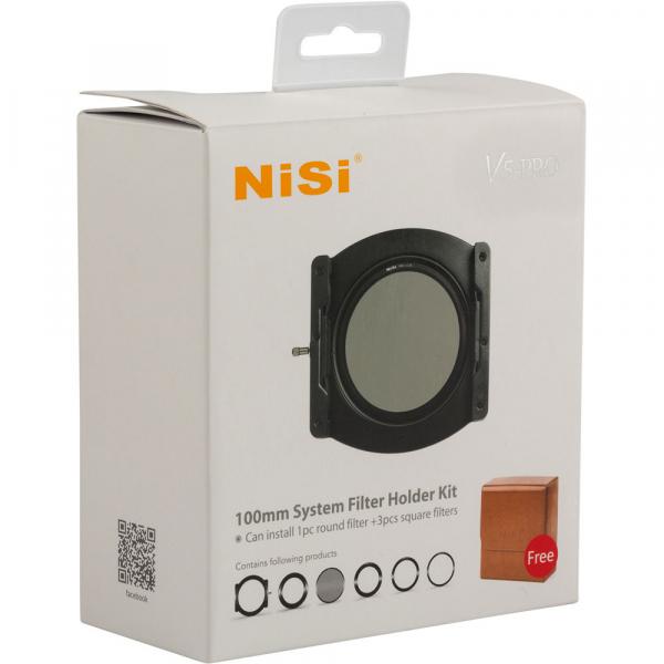 NiSi V5-Pro 100mm system filter holder + kit filtru CPL 86mm + adaptoare 82,77,72,67mm 7