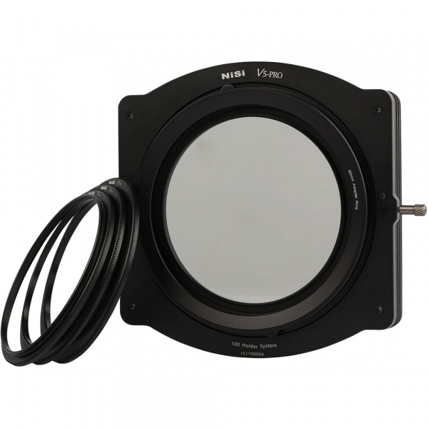 NiSi V5-Pro 100mm system filter holder + kit filtru CPL 86mm + adaptoare 82,77,72,67mm 0