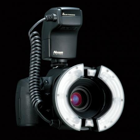 Nissin MF18 Ring Flash - blitz macro pentru Canon [0]