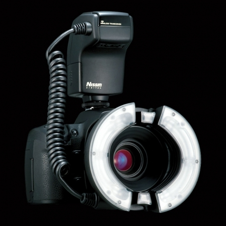 Nissin MF18 Ring Flash - blitz macro pentru Nikon 0