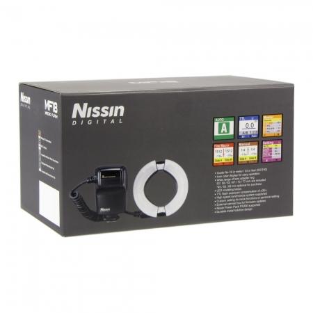 Nissin MF18 Ring Flash - blitz macro pentru Nikon 2