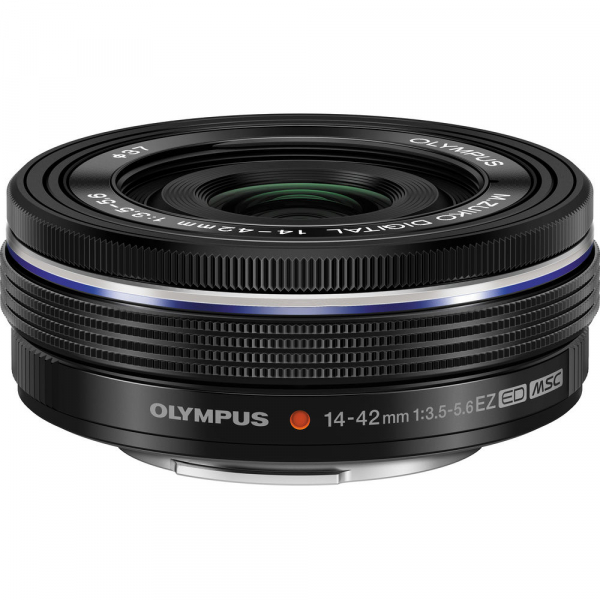 Olympus 14-42mm f/3.5-5.6 EZ ED MSC Black Pancake 0