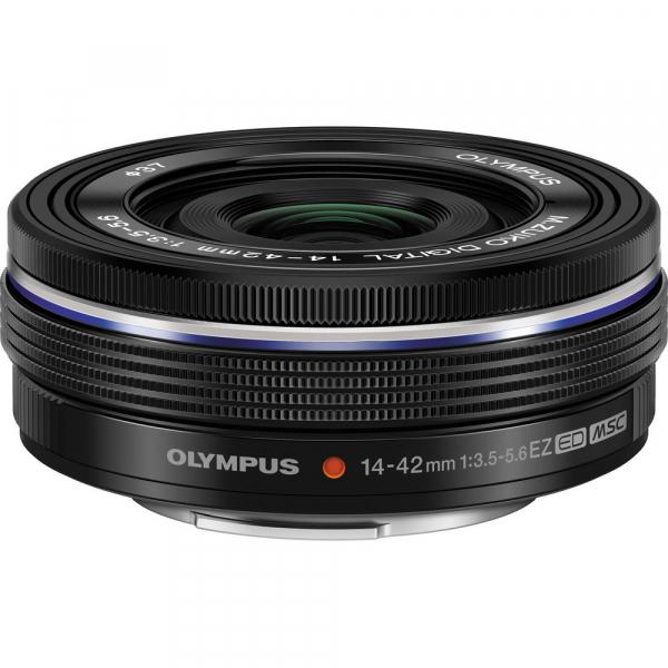 Olympus 14-42mm f/3.5-5.6 EZ ED MSC Black Pancake [0]