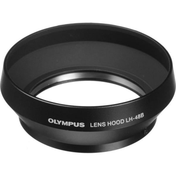 Olympus LH-48B (black) parasolar pentru - M.ZUIKO Digital 17mm 1:1:8 [0]