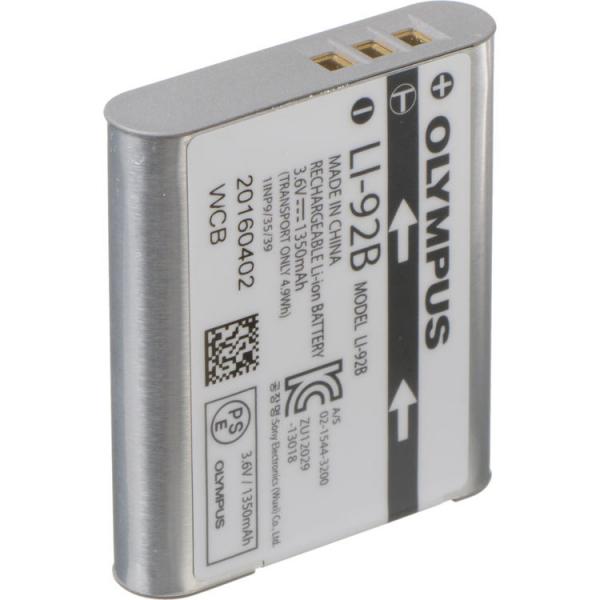 Olympus LI-92B - acumulator pentru Stylus SP-100, Tough TG-1/TG-2/Tg-3/Tg-4/TG-5/TG-6 0