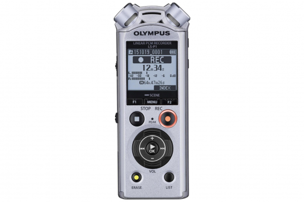 Olympus LS-P1 Video Kit - reportofon  Videogapher Kit inc Windscreen, Hot Shoe Adapter, 3.5mm Audio Cable and 8GB micro SD card [3]