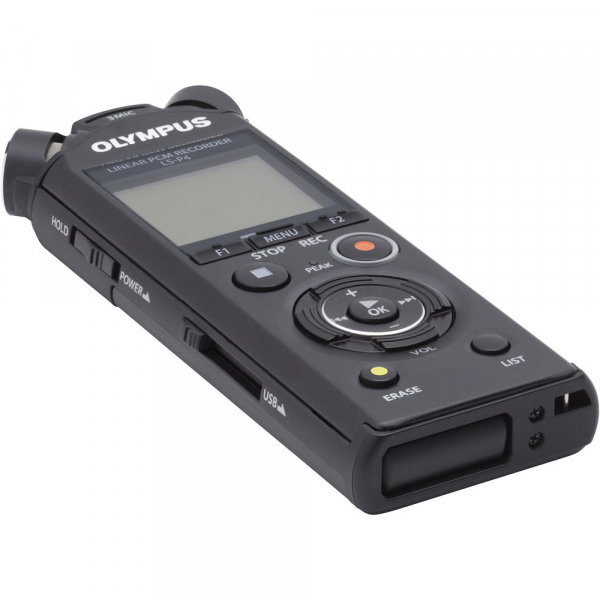 Olympus LS-P4 Video Kit -  reportofon (V409160BE010) 3