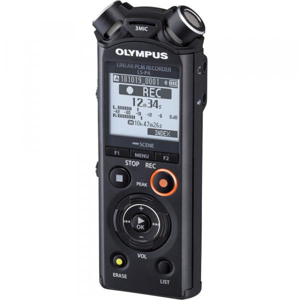 Olympus LS-P4 Video Kit -  reportofon (V409160BE010) 2