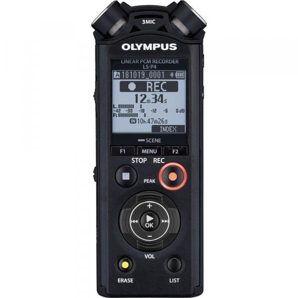 Olympus LS-P4 Video Kit -  reportofon Linear PCM Audio Recorder Videography Kit [1]