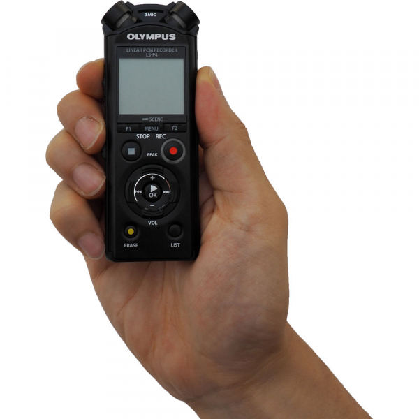 Olympus LS-P4 Video Kit -  reportofon Linear PCM Audio Recorder Videography Kit [7]
