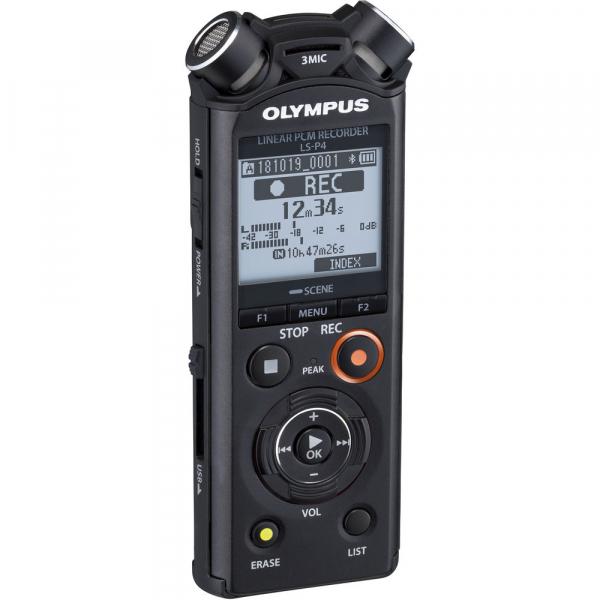 Olympus LS-P4 Video Kit -  reportofon Linear PCM Audio Recorder Videography Kit [2]