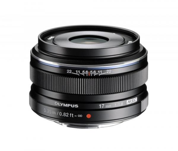Olympus M.Zuiko Digital 17mm f/1.8 (Micro 4/3) Black 0