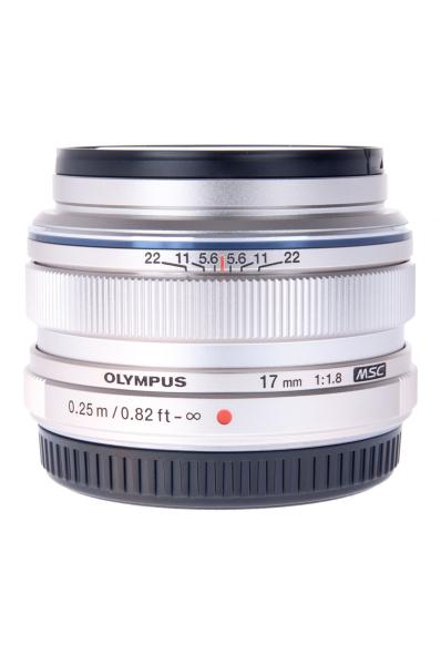 Olympus M.ZUIKO 17mm f/1.8 , silver 0
