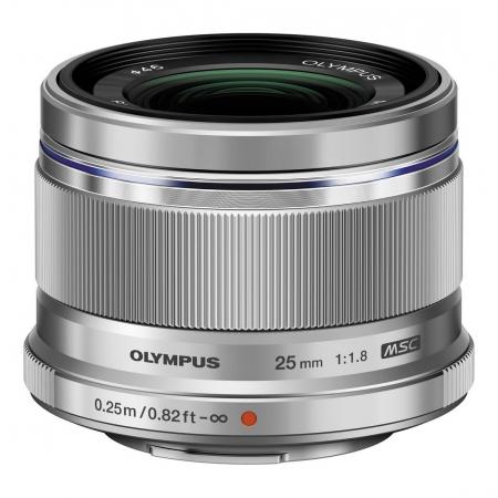 Olympus M.ZUIKO  25mm f/1.8 , silver 0