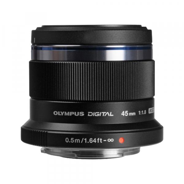 Olympus M.ZUIKO 45mm f/1.8 MSC , black 2