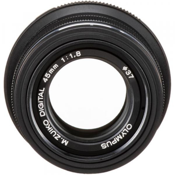 Olympus M.ZUIKO 45mm f/1.8 MSC , black 3