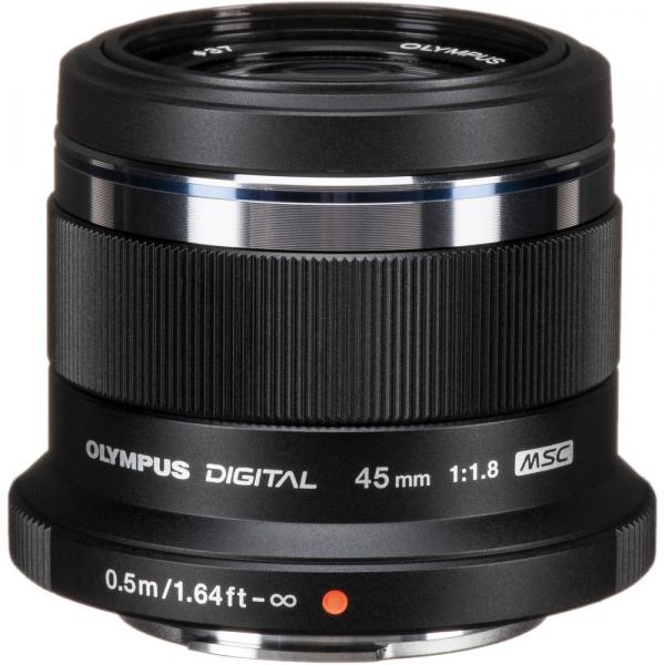 Olympus M.ZUIKO 45mm f/1.8 MSC , black 0
