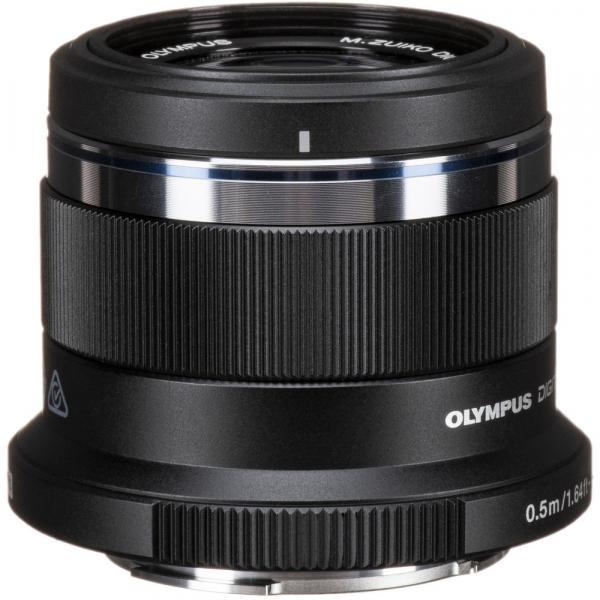 Olympus M.ZUIKO 45mm f/1.8 MSC , black 1