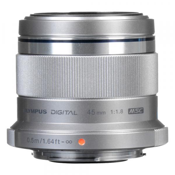 Olympus M.ZUIKO 45mm f/1.8 MSC , silver [2]