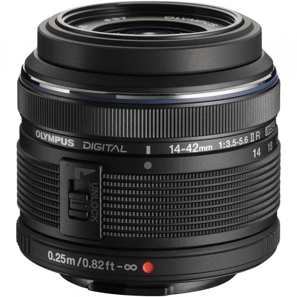 Olympus M.Zuiko Digital ED 14-42 mm f/3.5-5.6 ll R negru (bulk) 1