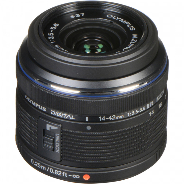 Olympus M.Zuiko Digital ED 14-42 mm f/3.5-5.6 ll R negru (bulk) 0