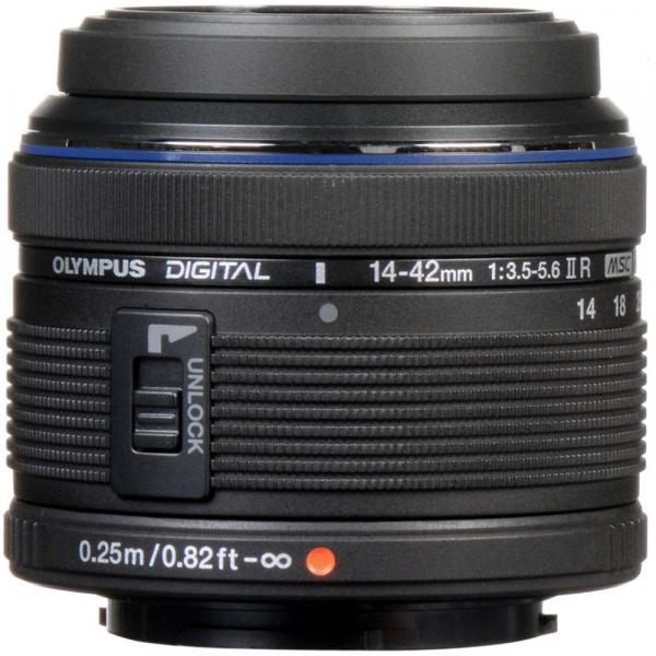 Olympus M.Zuiko Digital ED 14-42 mm f/3.5-5.6 ll R negru (bulk) 2
