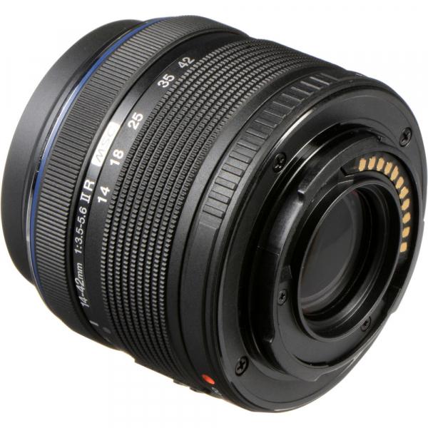 Olympus M.Zuiko Digital ED 14-42 mm f/3.5-5.6 ll R negru (bulk) 3