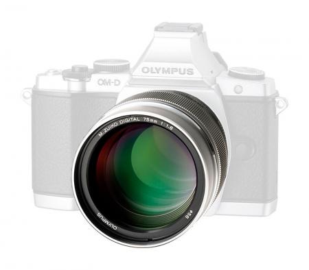 Olympus M.ZUIKO DIGITAL ED 75mm f/1.8 MSC (Micro 4/3) Black 1