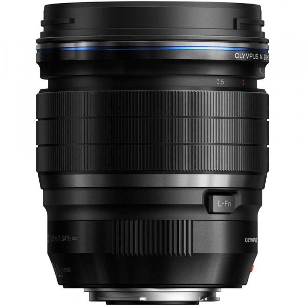 Olympus M.Zuiko ED 45mm f1.2 Pro, negru 1