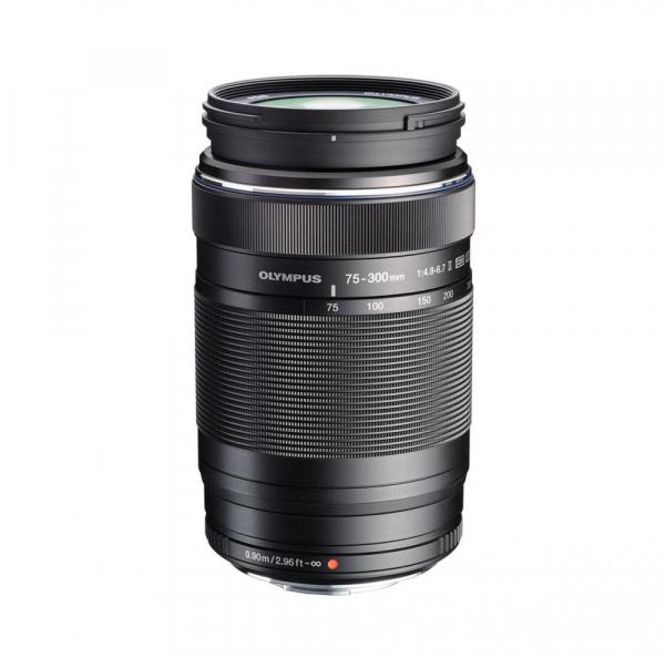 Olympus M.ZUIKO ED 75-300mm f/4.8-6.7 II , black 0