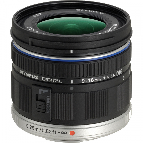 Olympus M.ZUIKO  ED 9-18mm f/4.0-5.6 0