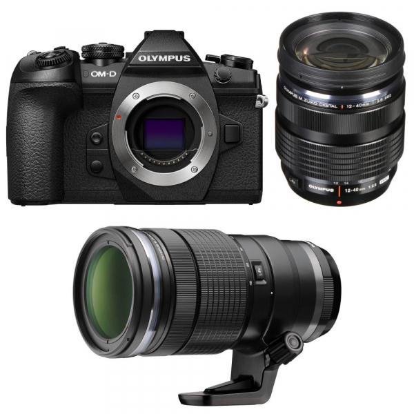 Olympus OM-D E-M1 Mark II +  M.ZUIKO DIGITAL ED 12-40mm f/2.8 PRO + M.Zuiko Digital ED 40-150mm f/2.8 PRO 0