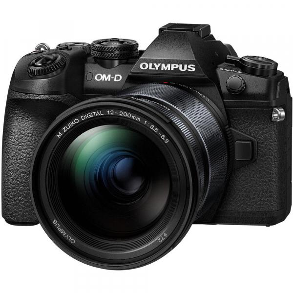 Olympus OM-D E-M1 Mark II + obiectiv M.Zuiko Digital ED 12-200mm f/3.5-6.3 , negru 0