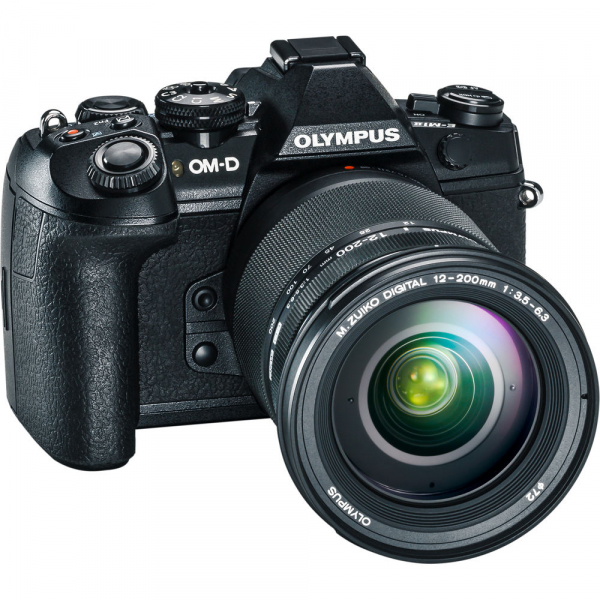 Olympus OM-D E-M1 Mark II + obiectiv M.Zuiko Digital ED 12-200mm f/3.5-6.3 , negru 1