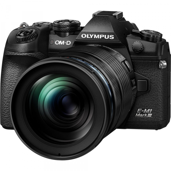 Olympus OM-D E-M1 Mark III cu obiectiv ED 12-100mm f/4 IS PRO, kit 0