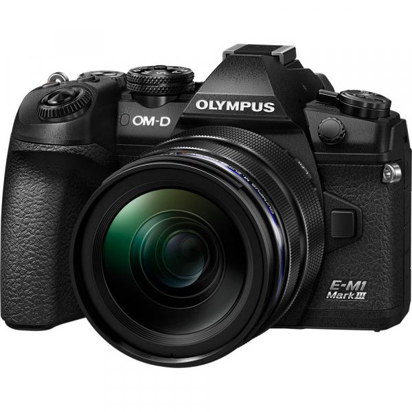 Olympus OM-D E-M1 Mark III cu obiectiv ED 12-40mm f/2.8 PRO, kit 0