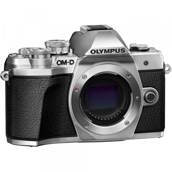 Olympus OM-D E-M10 Mark III kit cu 14-42mm II R argintiu 7
