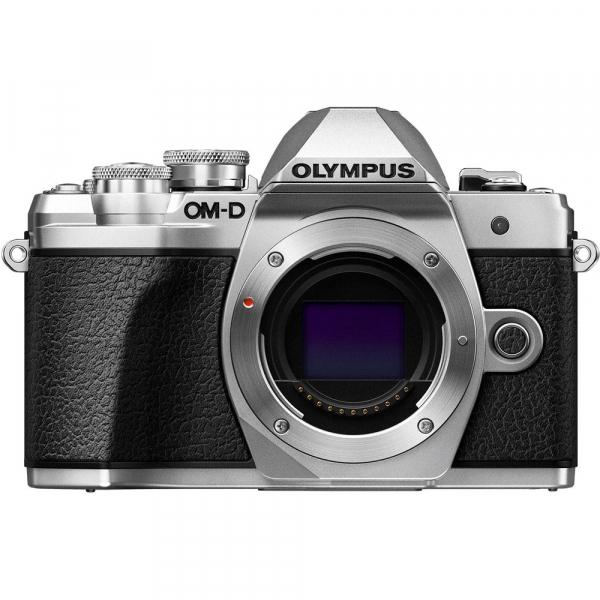 Olympus OM-D E-M10 Mark III kit cu 14-42mm II R argintiu 1