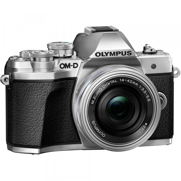 Olympus OM-D E-M10 Mark III kit Olympus 14-42mm EZ Pancake argintiu [9]