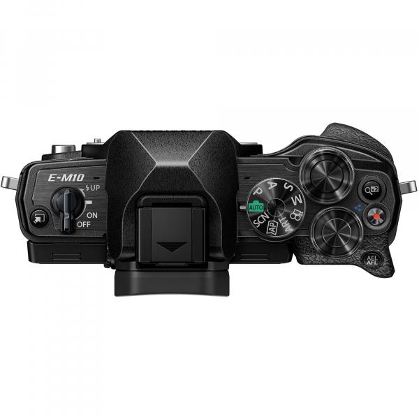 Olympus OM-D E-M10 Mark IV Aparat Mirrorless Black Kit cu M.Zuiko Digital 14-150mm F4.0-5.6 II black [4]