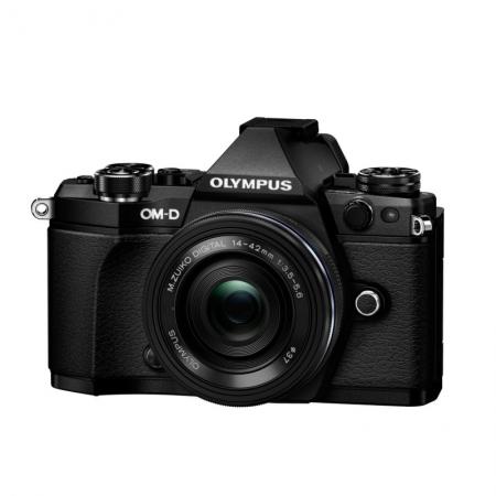 Olympus OM-D E-M5 Mark II negru + 14-42 EZ pancake negru 0